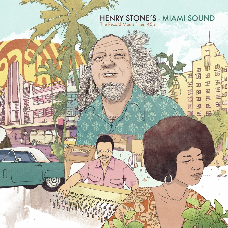 Various/HENRY STONE'S MIAMI SOUND LP
