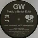 "Greg Wilson/MUSIC IS BETTER EDITS 12"""