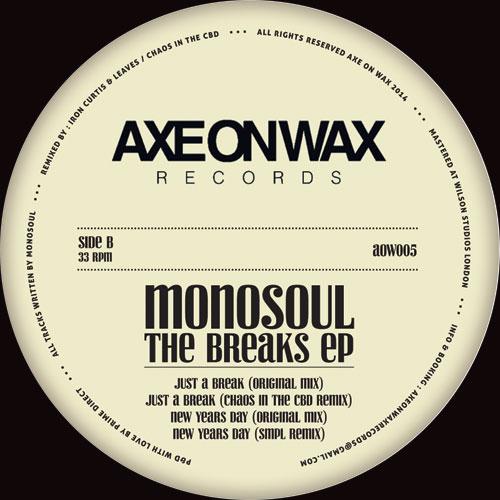 "Monosoul/THE BREAKS EP 12"""