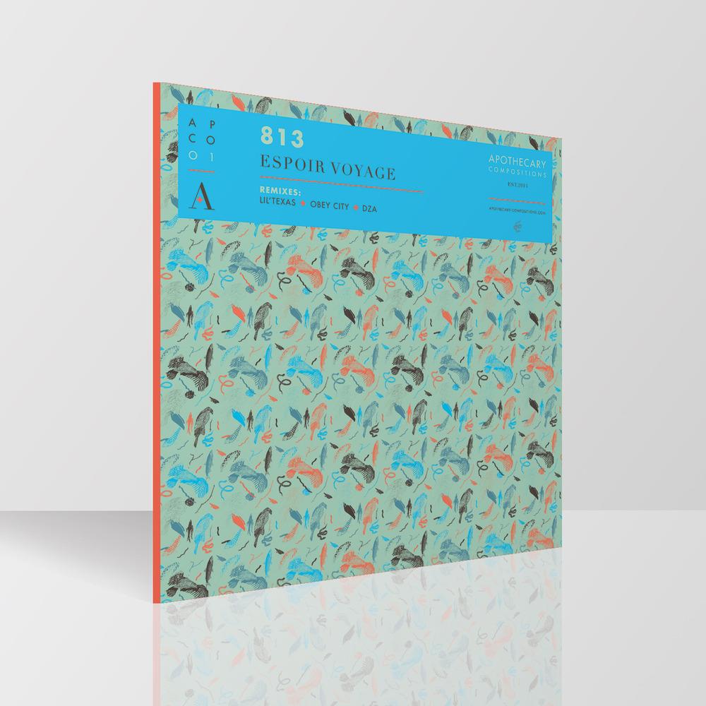 "813/ESPOIR VOYAGE EP (RED VINYL) 12"""