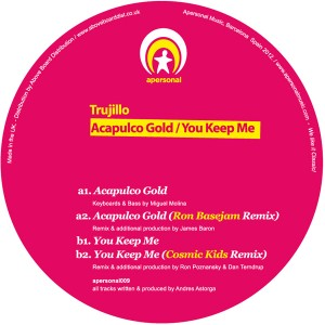 """Trujillo/ACAPULCO GOLD 12"""""""