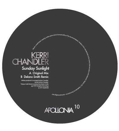 Kerri Chandler/SUNDAY SUNLIGHT RMX 12""