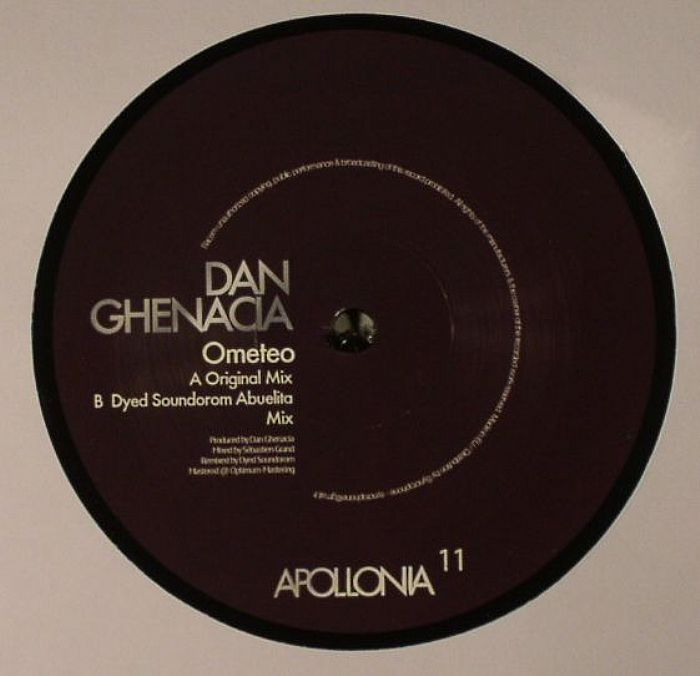 "Dan Ghenacia/OMETEO DYED SOUNDOROM 12"""