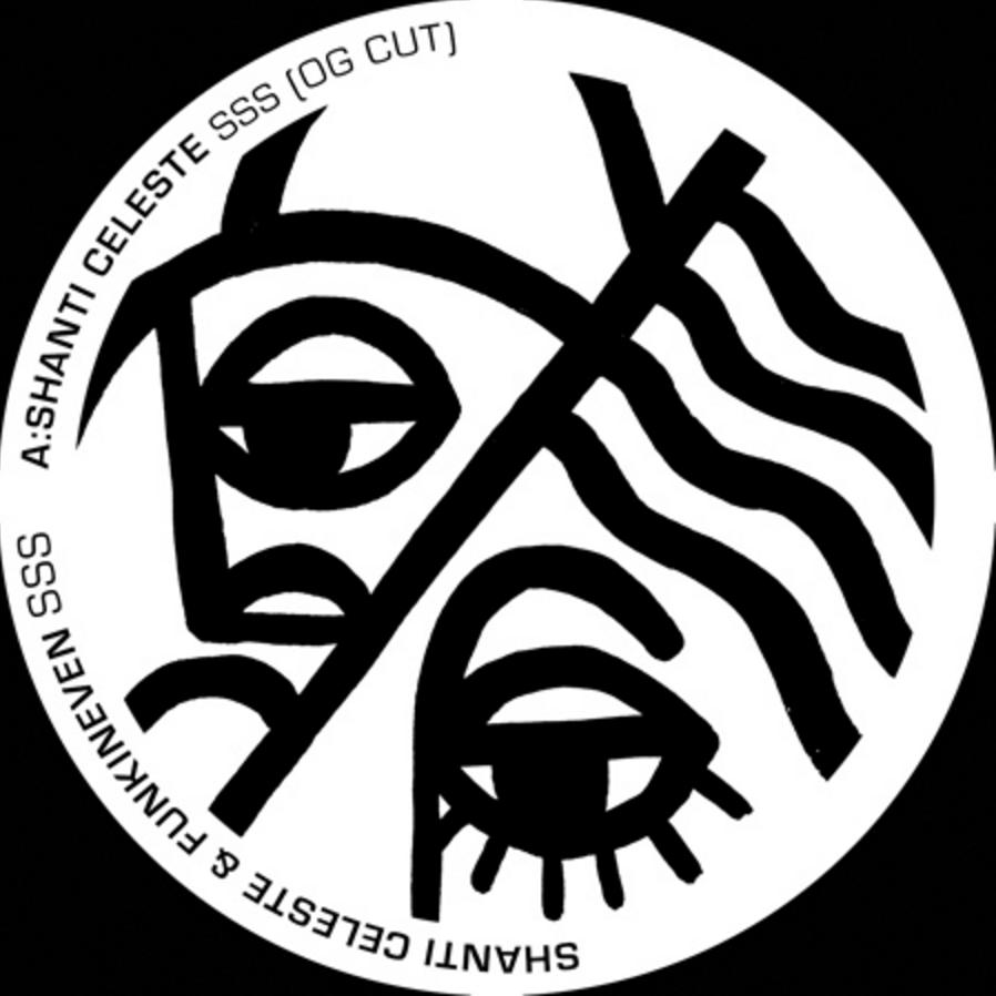 "Shanti Celeste/SSS (FUNKINEVEN RMX) 12"""