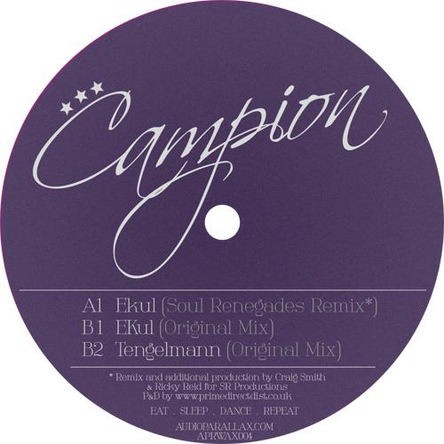 """Campion/EKUL (SOUL RENEGADES REMIX) 12"""""""