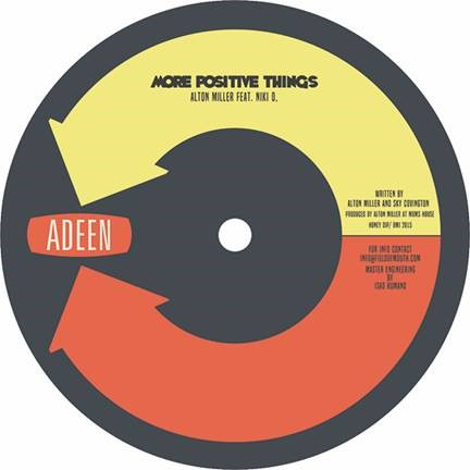 Alton Miller/MORE POSITIVE THINGS 12""