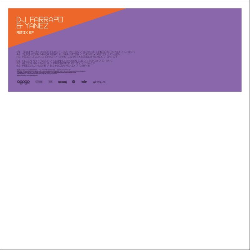 "DJ Farrapo & Yanez/REMIX EP  12"""
