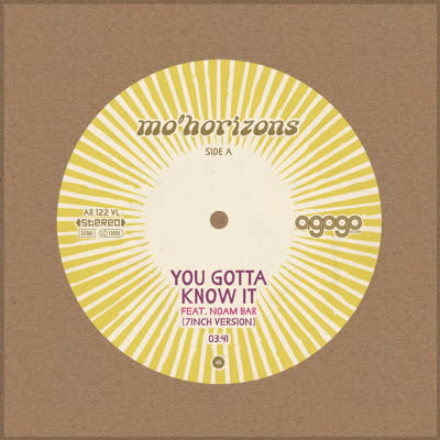 Mo' Horizons/YOU GOTTA KNOW IT 7""