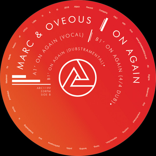 Marc & Oveous/ON AGAIN 12""