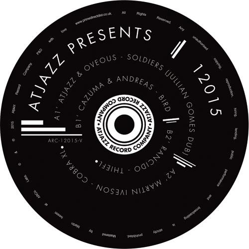 "Atjazz/PRESENTS 12015 EP 12"""