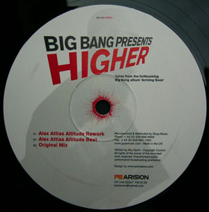 Big Bang/HIGHER-ALEX ATTIAS REMIX  12""