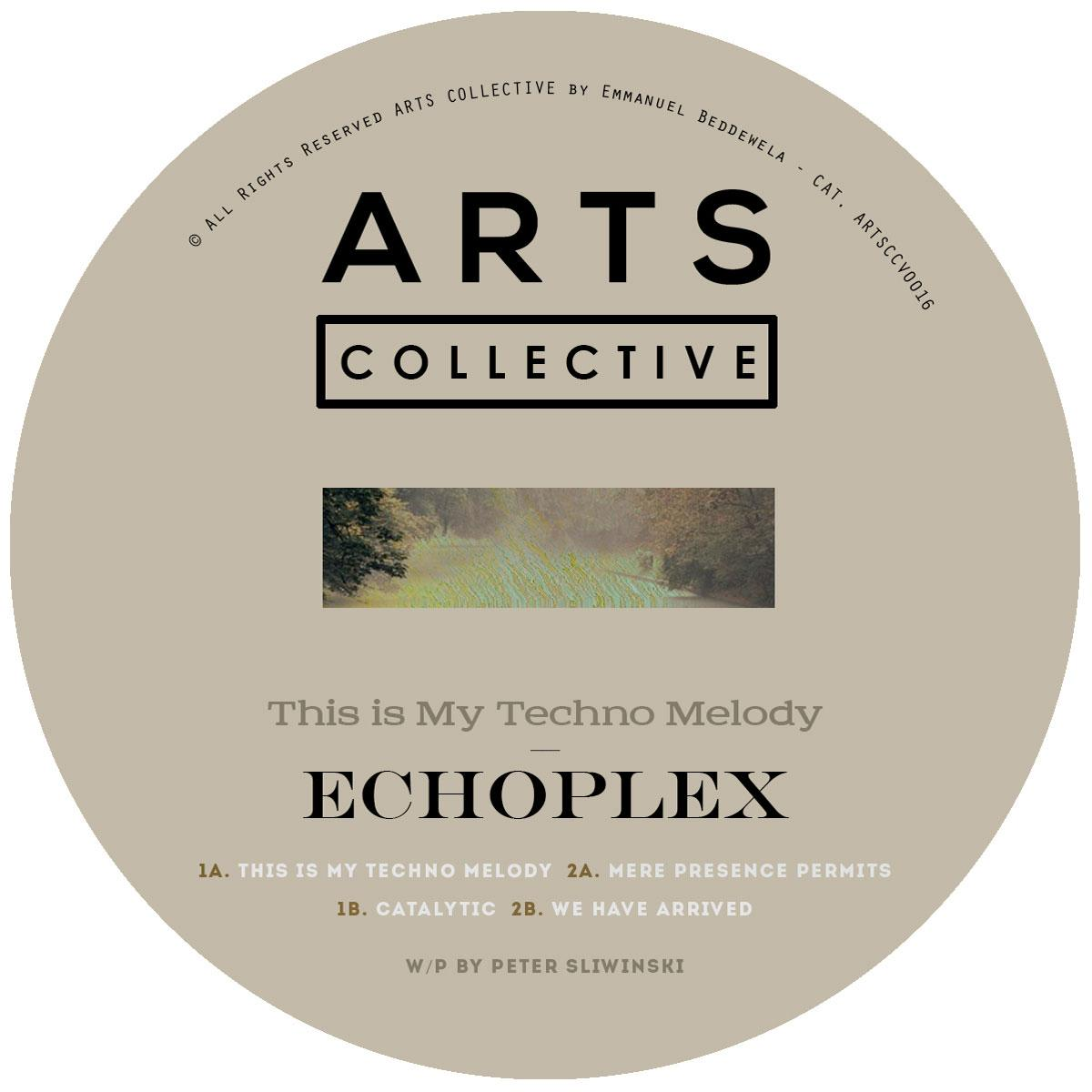 Echoplex/THIS IS MY TECHNO MELODY 12""