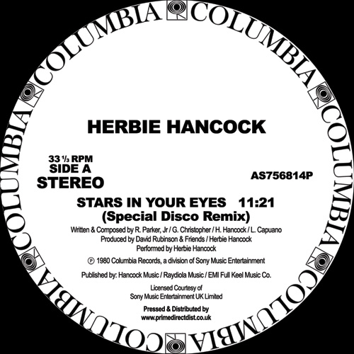 Herbie Hancock/STARS IN YOUR EYES 12""