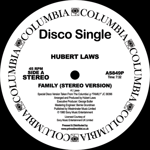 Hubert Laws/FAMILY 12""
