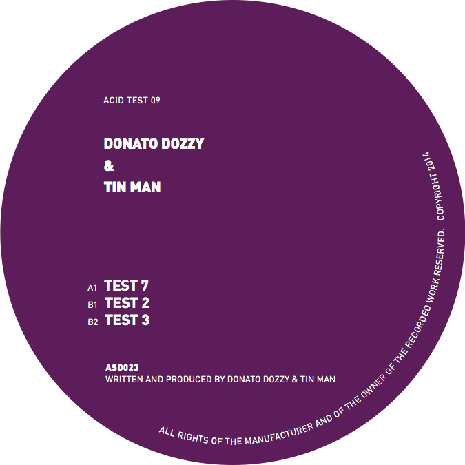 Donato Dozzy & Tin Man/ACID TEST 09 12""
