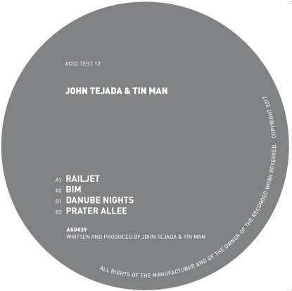 John Tejada & Tin Man/ACID TEST 12 12""