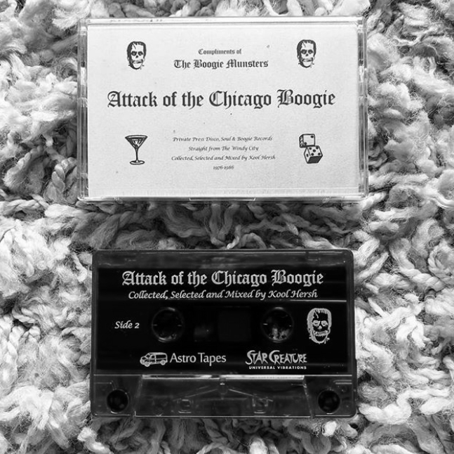 DJ Kool Hersh/ATTACK CHI BOOGIE TAPE