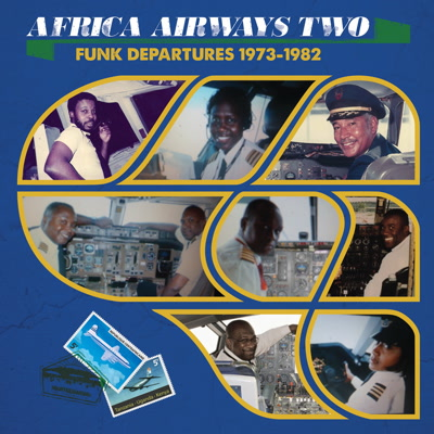Various/AFRICA AIRWAYS TWO (1973-82) LP