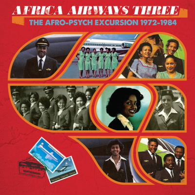 Various/AFRICA AIRWAYS THREE(1972-84) LP