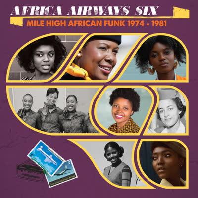 Various/AFRICA AIRWAYS SIX (1974-81) LP