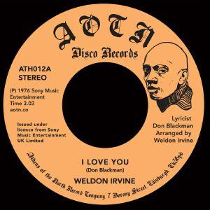 """Weldon Irvine/I LOVE YOU 7"""""""
