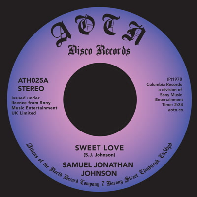 Samuel Jonathan Johnson/SWEET LOVE 7""