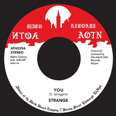 "Strange/YOU 7"""