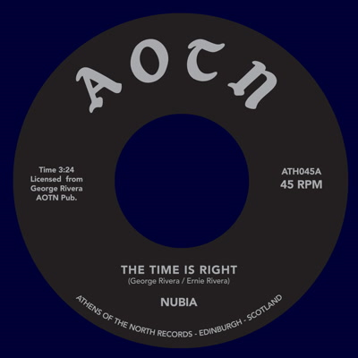 Nubia/TIME IS RIGHT & FEELING FUNKY 7""
