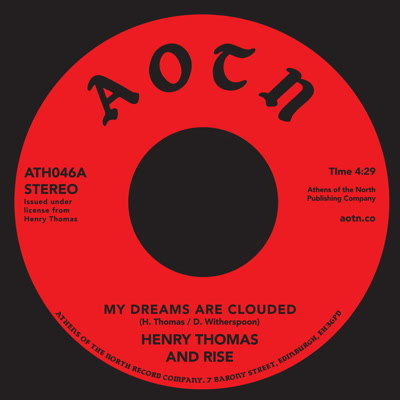 Henry Thomas/MY DREAMS ARE CLOUDED 7""