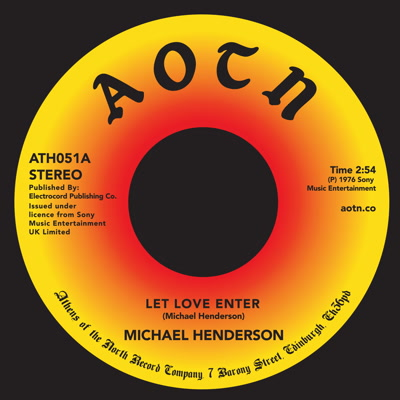 Michael Henderson/LET LOVE ENTER 7""