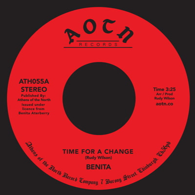 Benita/TIME FOR A CHANGE 7""