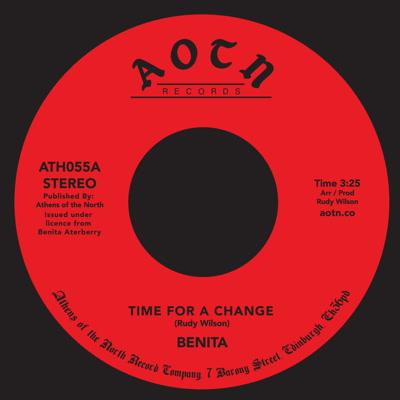 "Benita/TIME FOR A CHANGE 7"""