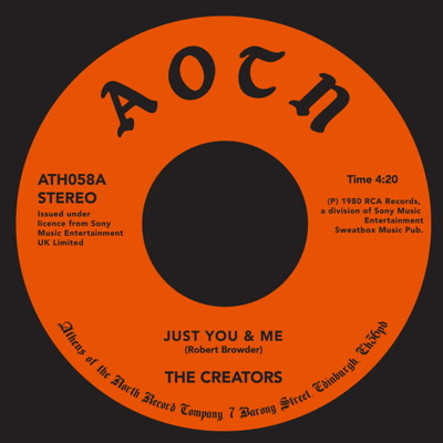 Creators, The/JUST YOU & ME 7""