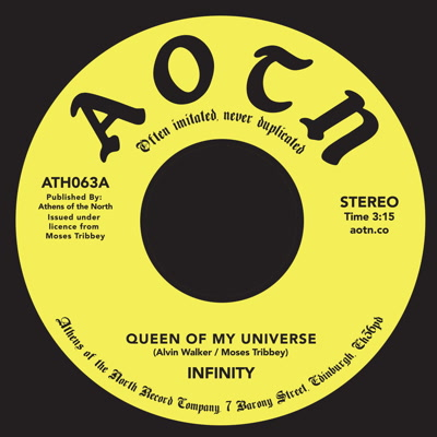 Infinity/QUEEN OF MY UNIVERSE 7""