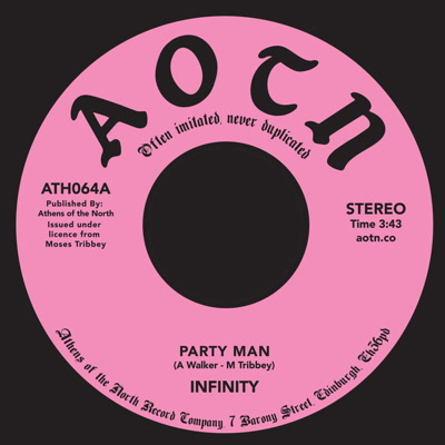 Infinity/PARTY MAN 7""