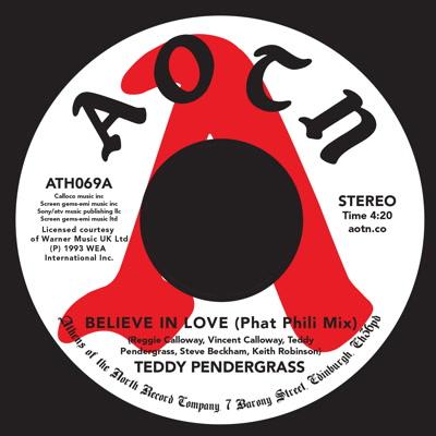 "Teddy Pendergrass/BELIEVE IN LOVE 7"""