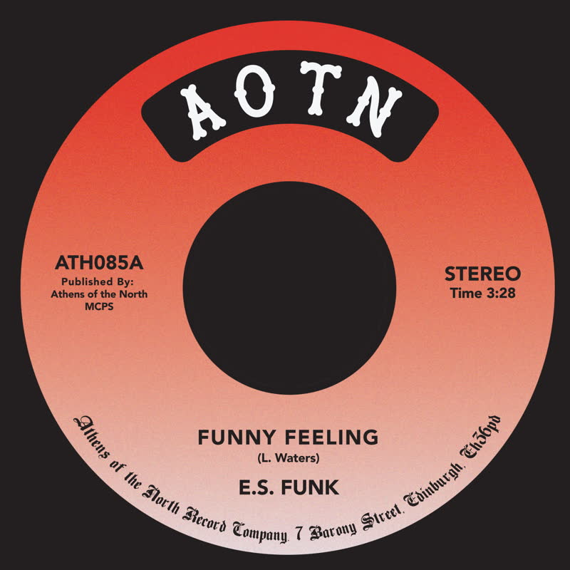 """E.S. Funk/FUNNY FEELING 7"""""""