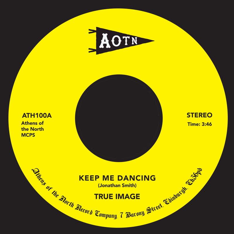 """True Image/KEEP ME DANCING 7"""""""