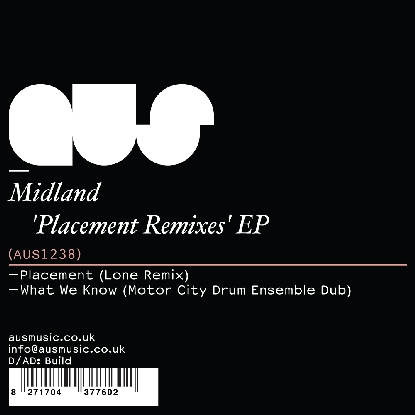 Midland/PLACEMENT REMIXES EP - LONE 12""
