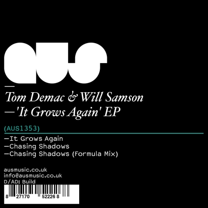 """Tom D & Will S/IT GROWS AGAIN REMIX 12"""""""