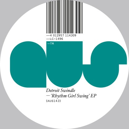 Detroit Swindle/RHYTHM GIRL SWING EP 12""