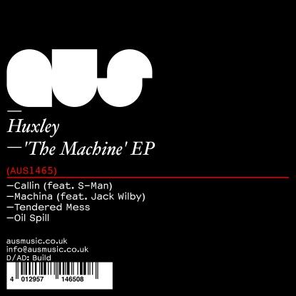 "Huxley/THE MACHINE EP 12"""