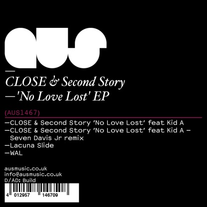 Close & Second Storey/NO LOVE LOST 12""