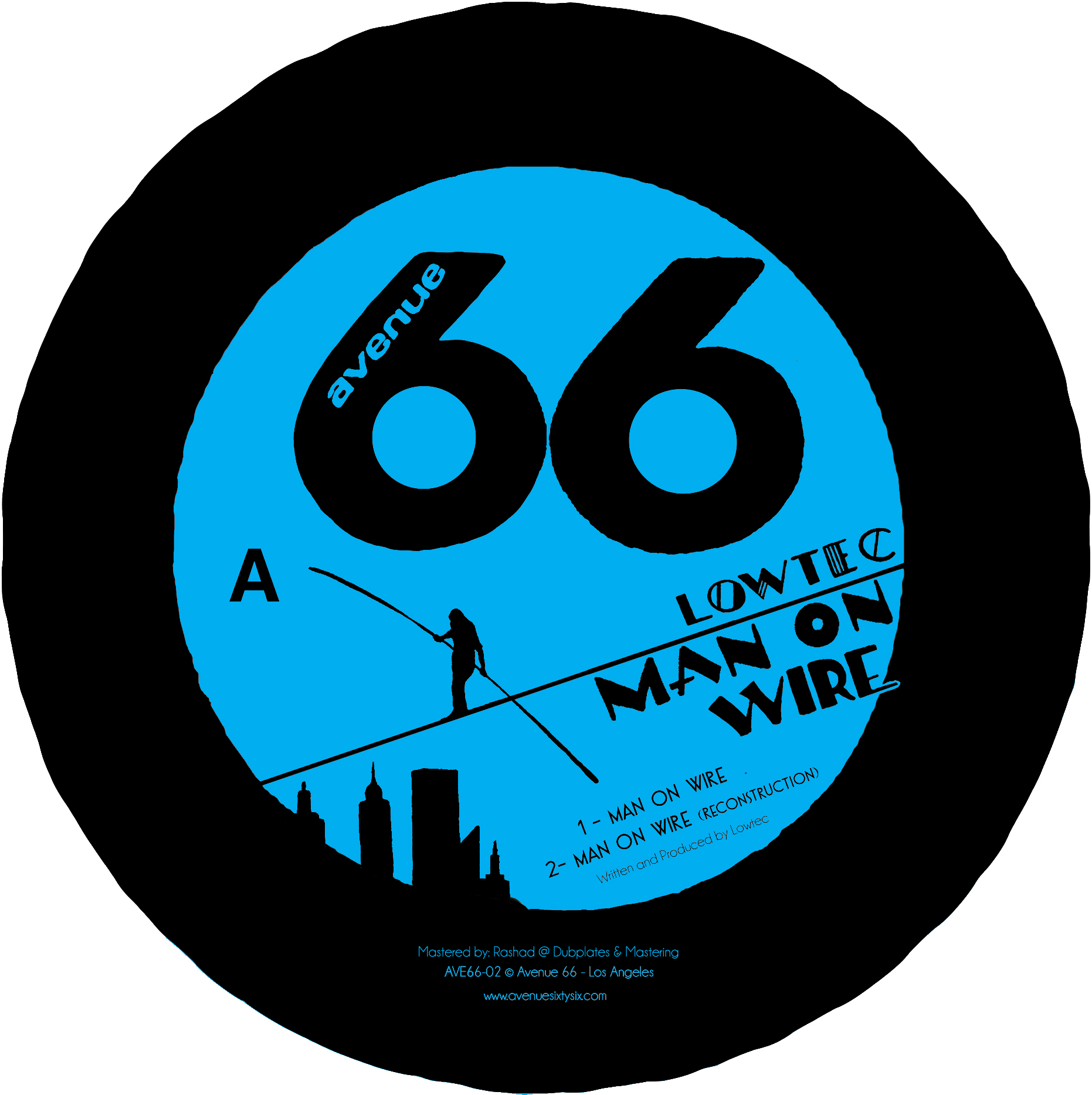 Lowtec/MAN ON WIRE 12""