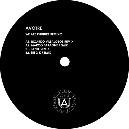 Phuture/WE ARE PHUTURE REMIXES PT 1 12""