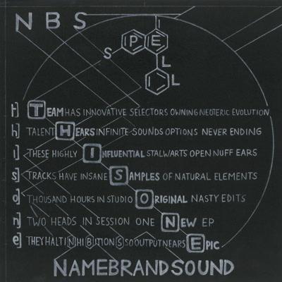 """NameBrandSound/SPELL T.H.I.S.O.N.E. 12"""""""