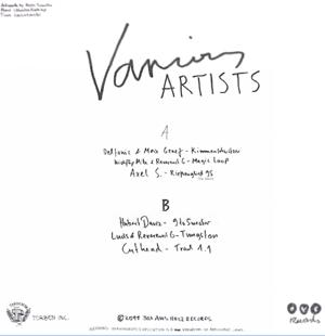 """Various/BOX AUS HOLZ LOST TRACKS V1 12"""""""