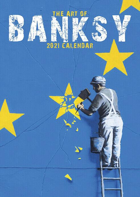 Banksy 2021 Calendar