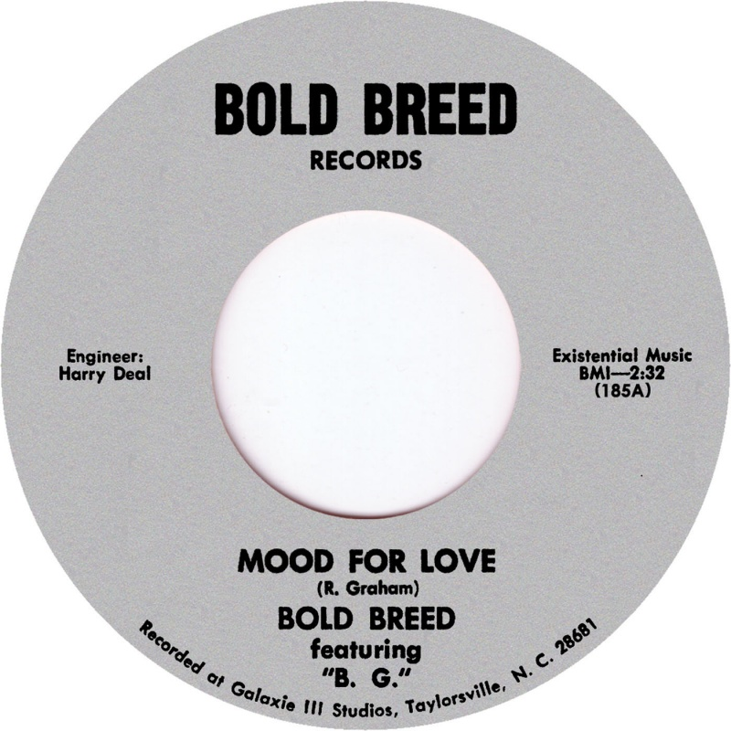 Bold Breed/MOOD FOR LOVE 7""
