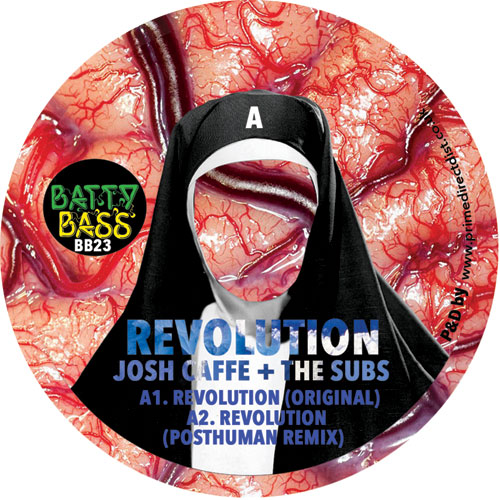 Josh Caffe & The Subs/REVOLUTION 12""